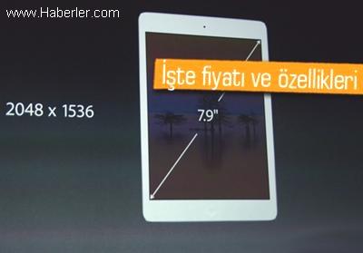 Apple Şimdi de Yeni Retina Ekranlı İpad Mini'yi Duyurdu