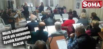 Müzik Gönüllüleri Yeni Yılın İlk Konserini Ayvalık'ta verecek