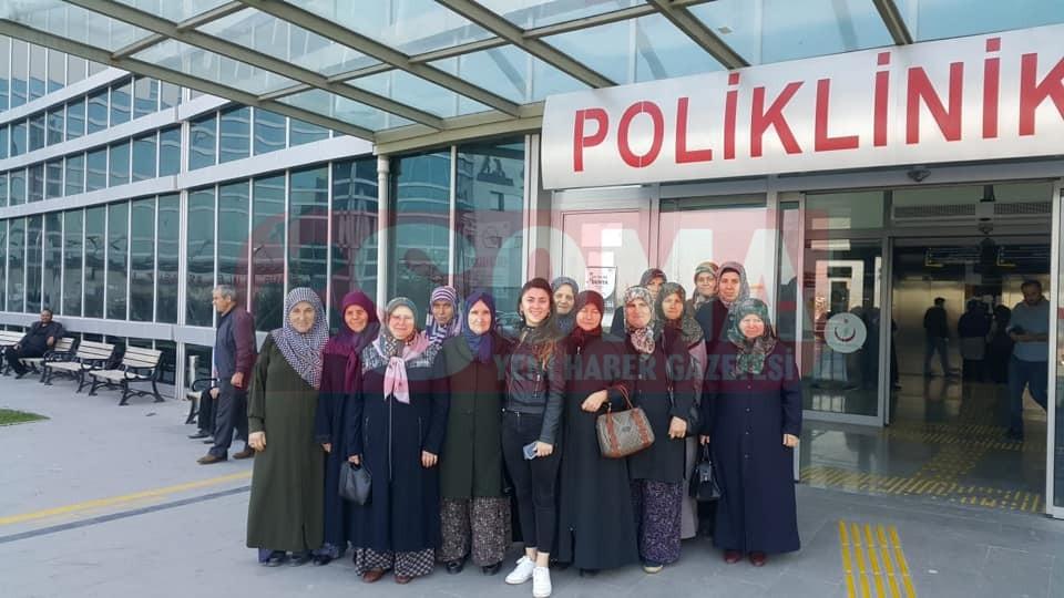 Kırkağaçlı kadınlar Soma'da Kanser Taramasından Geçti