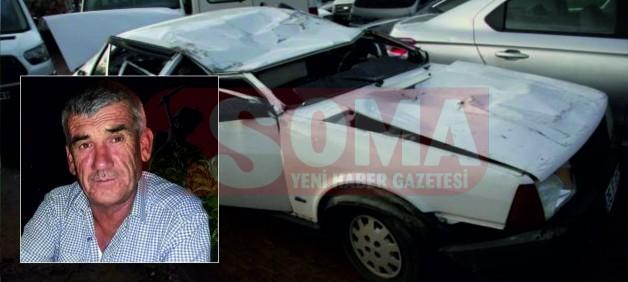 Araç takla attı, sürücüsü yaşamını yitirdi