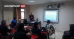 Zeytin üreticilerine aralama eğitimi